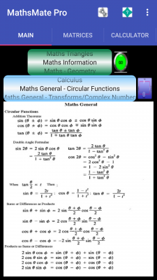 Maths Mate And Solvers free screenshot 1