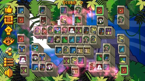 Mayan Pyramid Mahjong screenshot 1