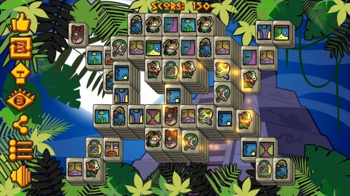 Mayan Pyramid Mahjong screenshot 2