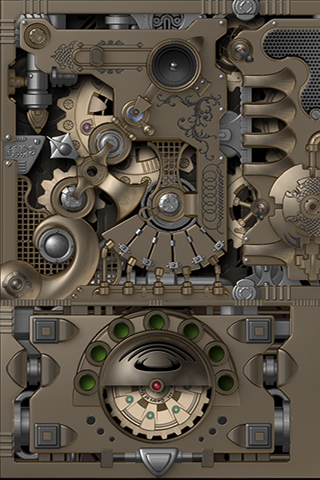 Mechanical Gears Hd Lwp Tablet Light Apk