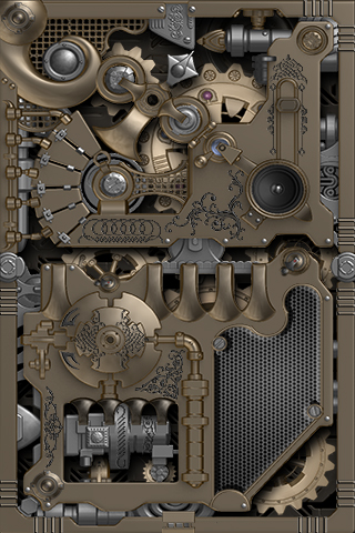 Mechanical Gears Lwp Smart L Apk