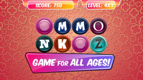 Memory Learning Game Letters screenshot 1