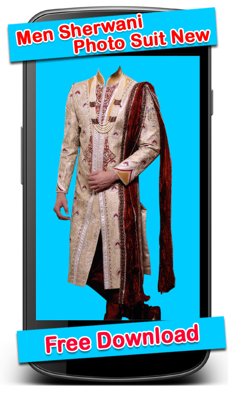 Men Sherwani Photo Suit New screenshot 2