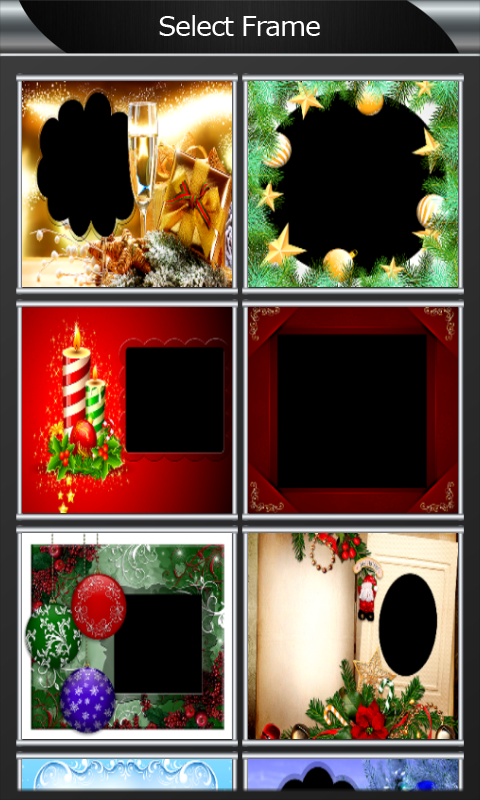 download merry christmas photo frames