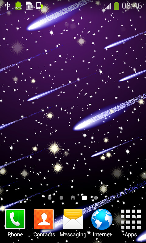 Meteor Shower Live Wallpapers Best Free App Download Android Freeware
