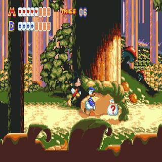 Mickey Mouse and Donald Duck in World of Illusion screenshot 1