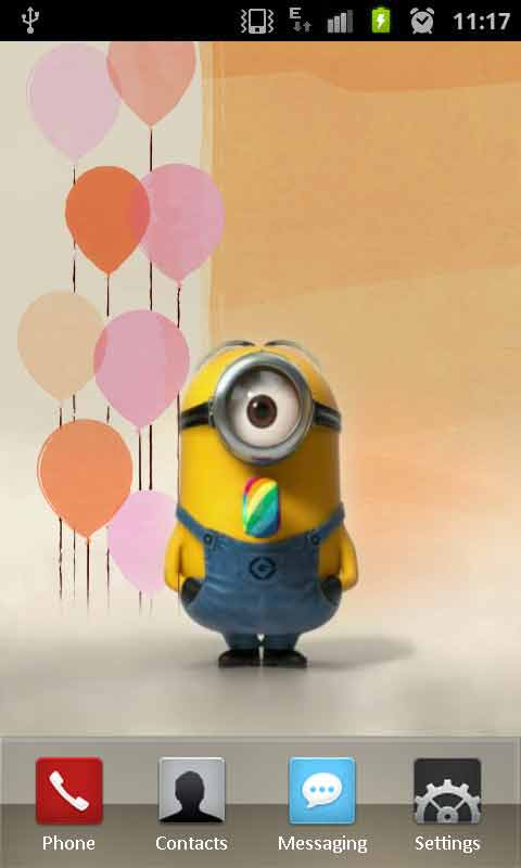 Download Free Minion At The Party LW Apps For Android Phone