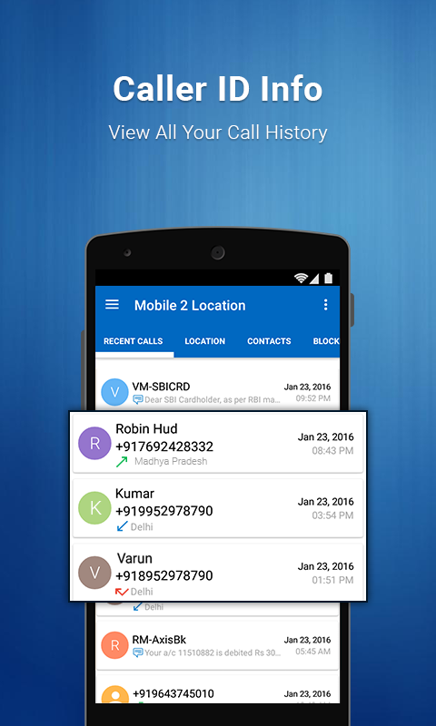 how to find mobile phone location in india
