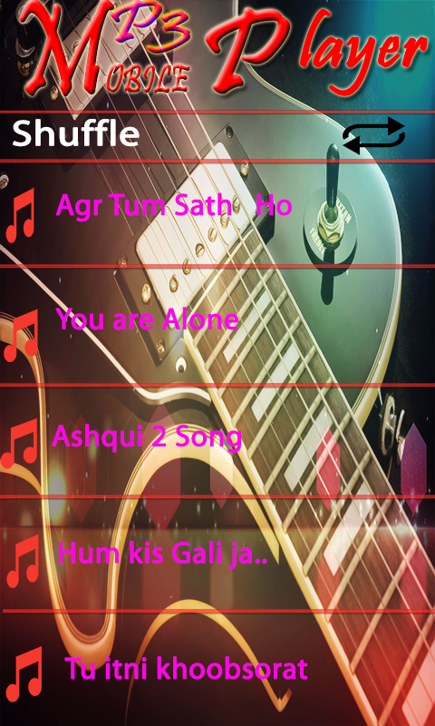 Mobile MP3 Player screenshot 2