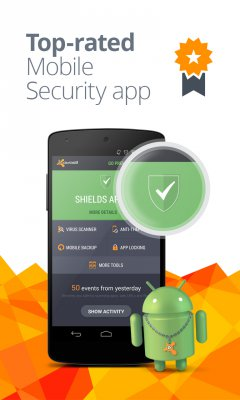 Mobile Security - Antivirus screenshot 1