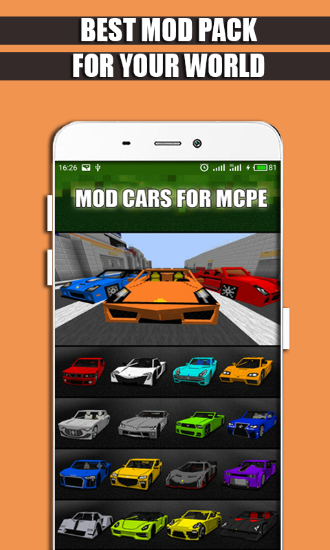 Mod Cars for MCPE. screenshot 1