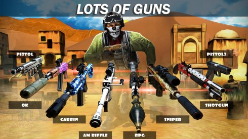 Modern Force Multiplayer Online screenshot 2