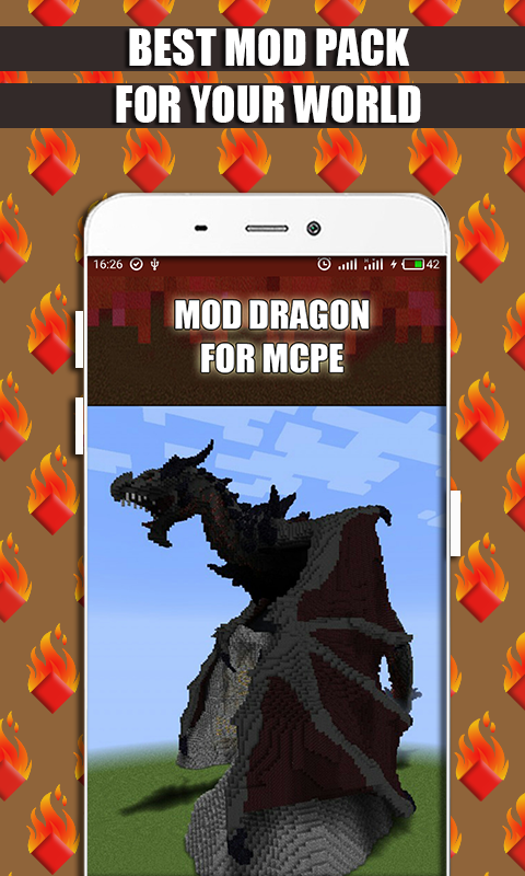 Mods and Addons Dragon for MCPE screenshot 1