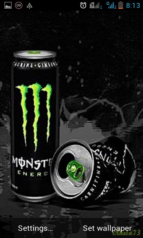 Monster energy live wallpaper free apk android app android freeware download monster energy live wallpaper voltagebd Images
