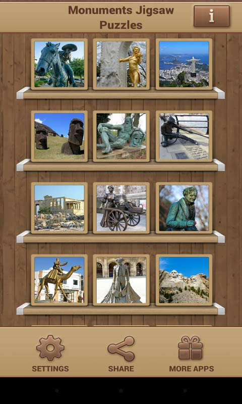 Monuments Jigsaw Puzzles screenshot 1