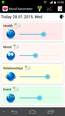 Mood Barometer screenshot 1