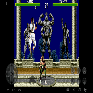 Mortal Kombat first fight for Android - Download