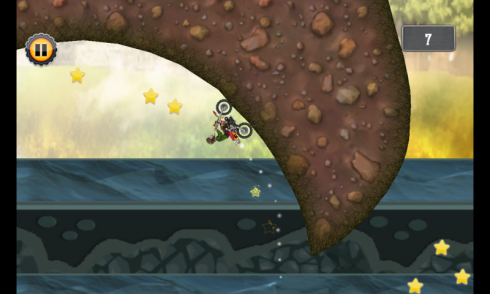 Motocross Hill Racing Game screenshot 2