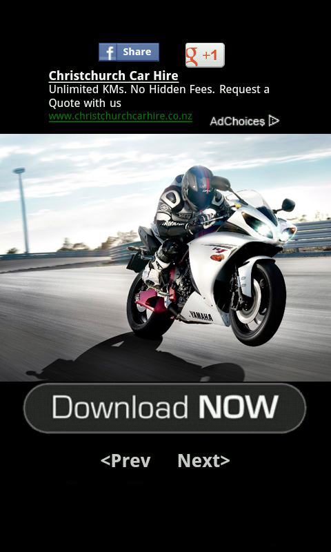 MotorCycle Wallpaper screenshot 2