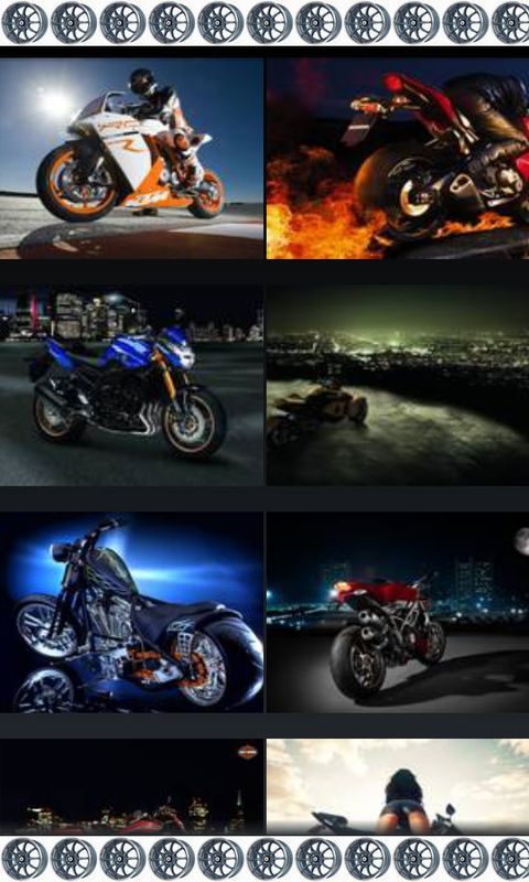 Motorcycle Wallpapers free android app  Android Freeware