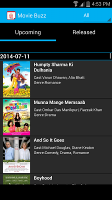 Movie Buzz for Android - Download