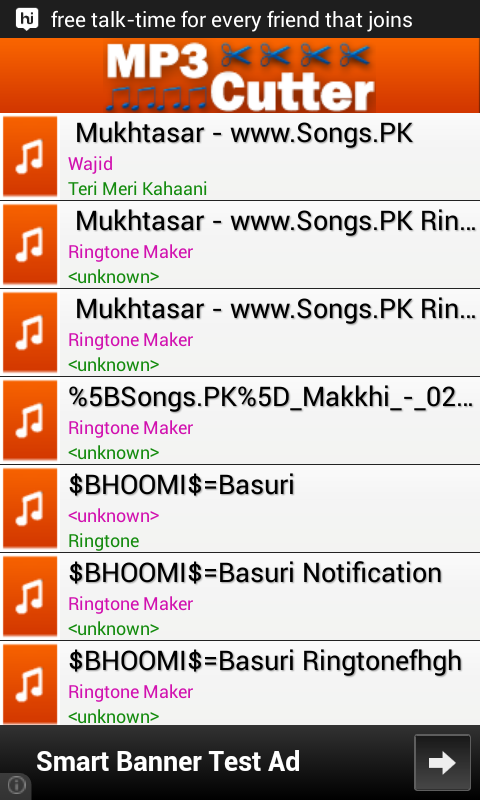 mp3 to ringtone download: