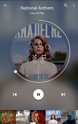 Musific Music Player screenshot 1