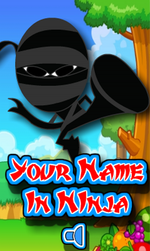 My name in Ninja screenshot 1