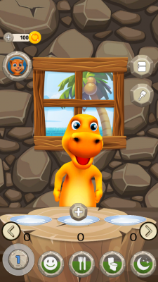My Talking Dinosaur Ross screenshot 2