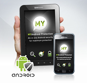 MYAndroid Protection for Android 2.0 or later screenshot 1