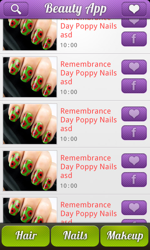 Nail art and hairstyle catalog free app download android freeware download nail art and hairstyle catalog prinsesfo Gallery