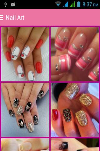 Nail Art Designs 2015 free android app - Android Freeware