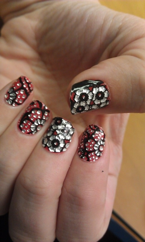 Download Nail Art Stickers free for your Android phone