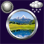 Download Nature Clock Weather Widget for Android phone