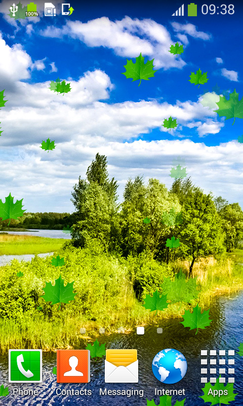 Nature Live Wallpapers New free app download - Android Freeware