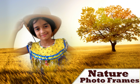 Nature photo frames for android download.