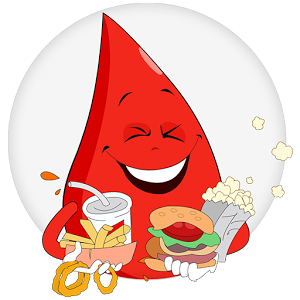 Image of Naughty Diet for Blood Group