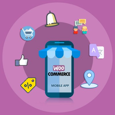 Image of Nautica WooCommerce mobile app