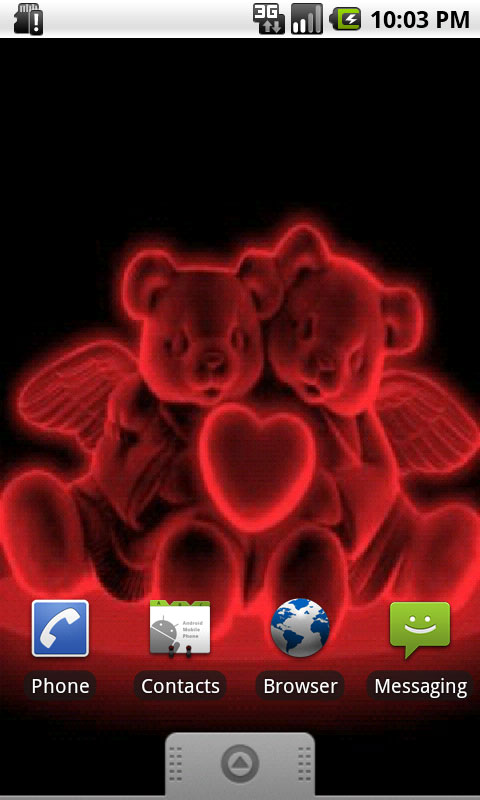 Download Neon Bears In Love Live Wallpapers
