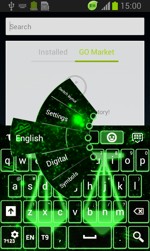 Neon Libra Keyboard screenshot 1