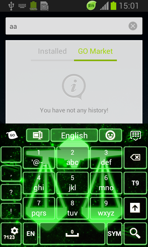 Neon Libra Keyboard screenshot 2