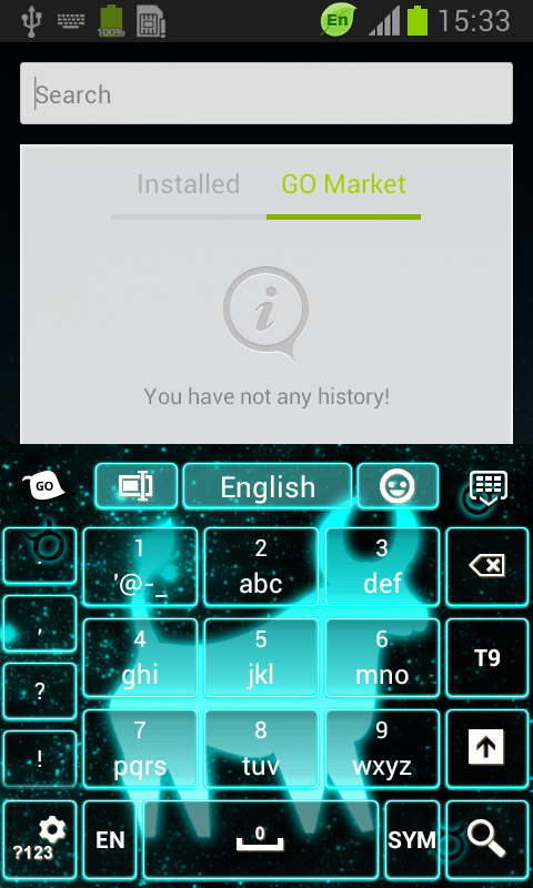 Neon Taurus Keyboard screenshot 2