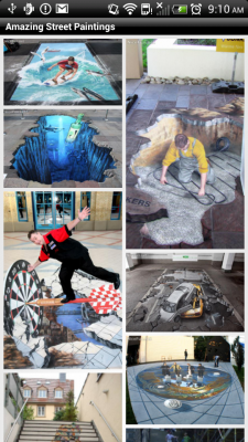 New Amazing Street Paintings screenshot 1