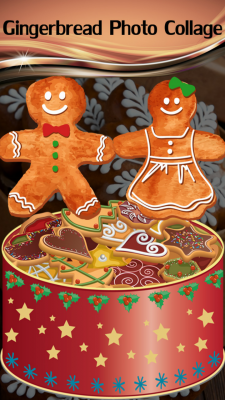 New Gingerbread Photo Collage screenshot 1