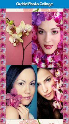 New Orchid Photo Collage screenshot 1