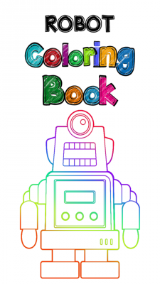 New Robot Coloring Book screenshot 1