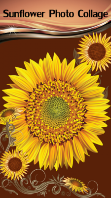 New Sunflower Photo Collage screenshot 1