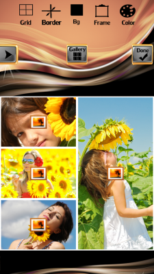 New Sunflower Photo Collage screenshot 2