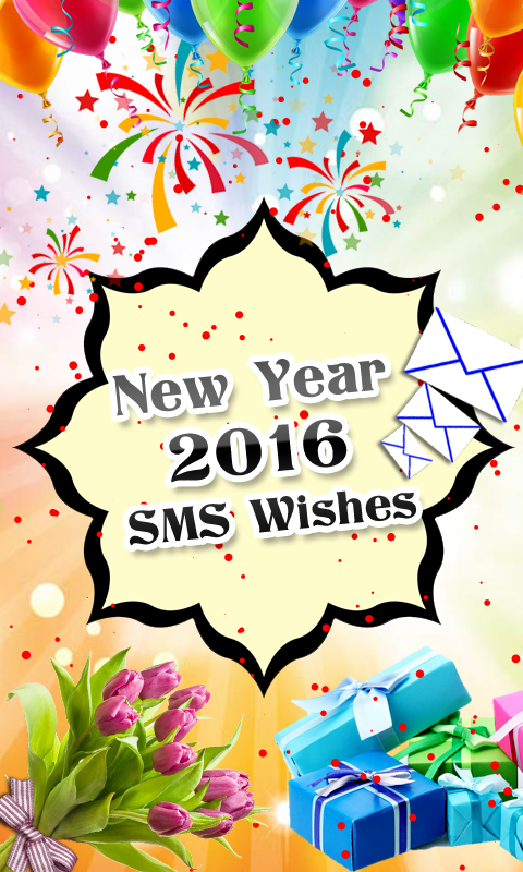 New Year 2016 SMS Wishes Android App - Free APK by Noor ...