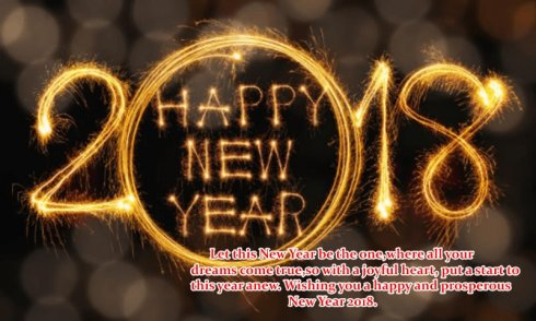 download new year greeting cards 2018